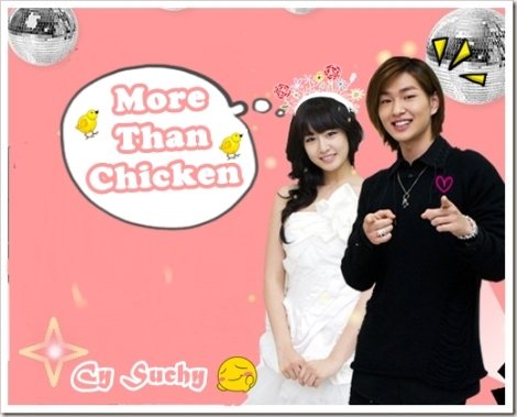 more than chicken poster